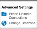 how to export save linkedin connections contacts friends csv