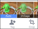 how to post and edit a photo to facebook from facebook app on the apple iphone 5 6 plus