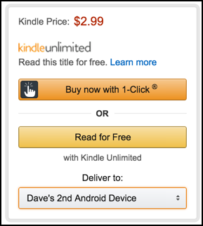 default kindle device name on amazon.com