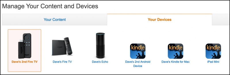 list of kindle devices and apps
