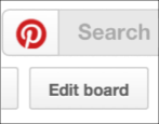 how to change the cover photo on a pinterest pinboard board