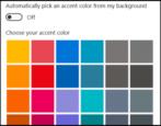 how to change windows 10 win10 start menu taskbar color theme colors transparent