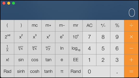Cool Mac OS X calculator tricks! - Ask Dave Taylor