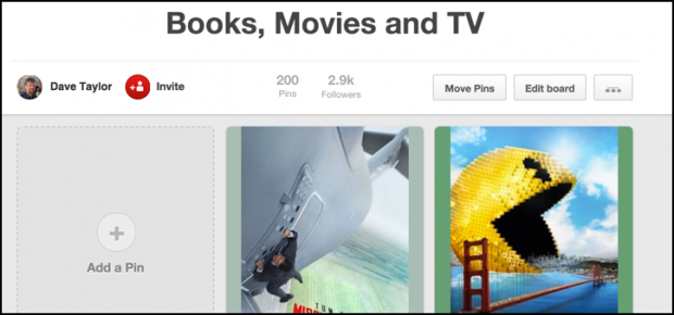 how to change pinterest pinboard board cover