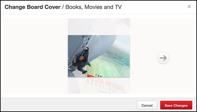 pick a cover photo image pinterest pin board pinboard