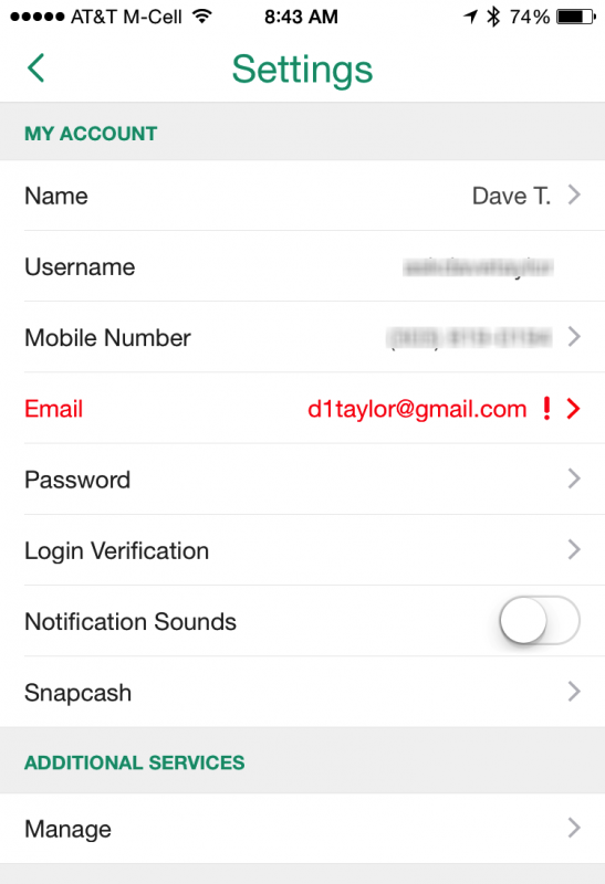 Enable two-step login verification for Snapchat? - Ask Dave Taylor