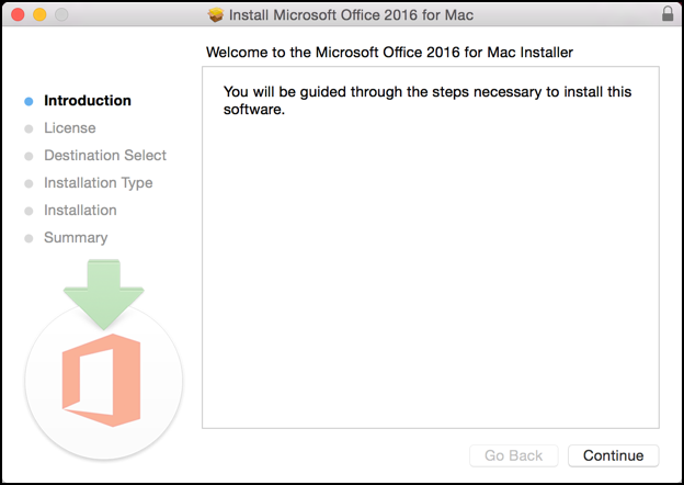 how to install microsoft office on mac pro