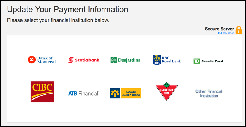 canadian banks, pick your own, from netflix phishing scam