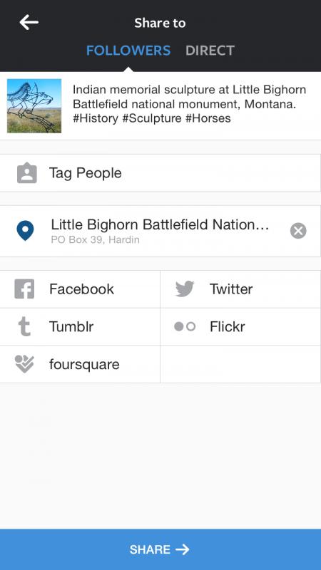 fill in the fields for better instagram