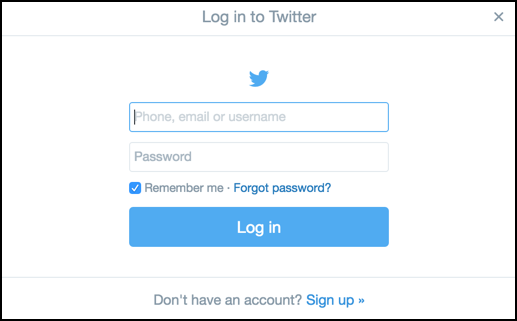 how to delete twitter account but forgot password