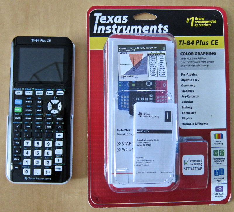 For Graphing Calculator Texas Instruments TI / Plus CE Portable Hard Carrying Case Travel Bag Protective Pouch Box -Extra Room for Pen and Accessories out of 5 stars 9. CDN$ Reviews: