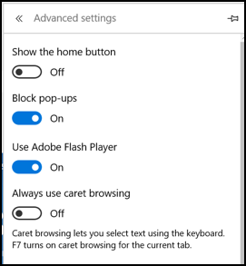 How to Disable Flash in Microsoft Edge Browser? - Ask Dave
