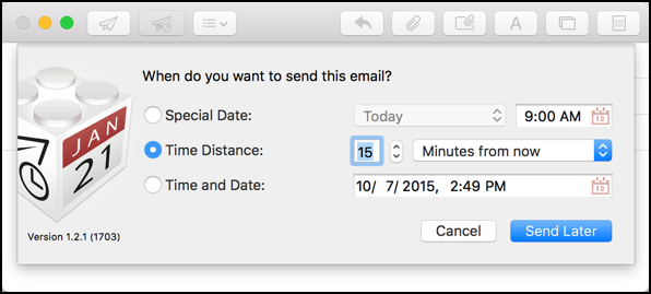 Can I delay sending email in Apple Mail? - Ask Dave Taylor