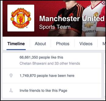 manu manchester united fans on facebook
