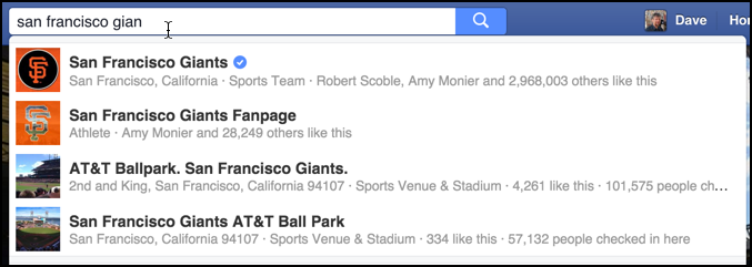 sf giants official facebook page