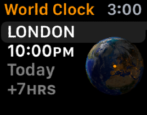 how to pick set choose city cities world clock time apple watch sport edition