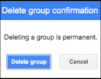 how to kill remove shut down delete mailing list group google groups