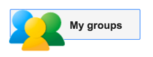 google groups my groups button