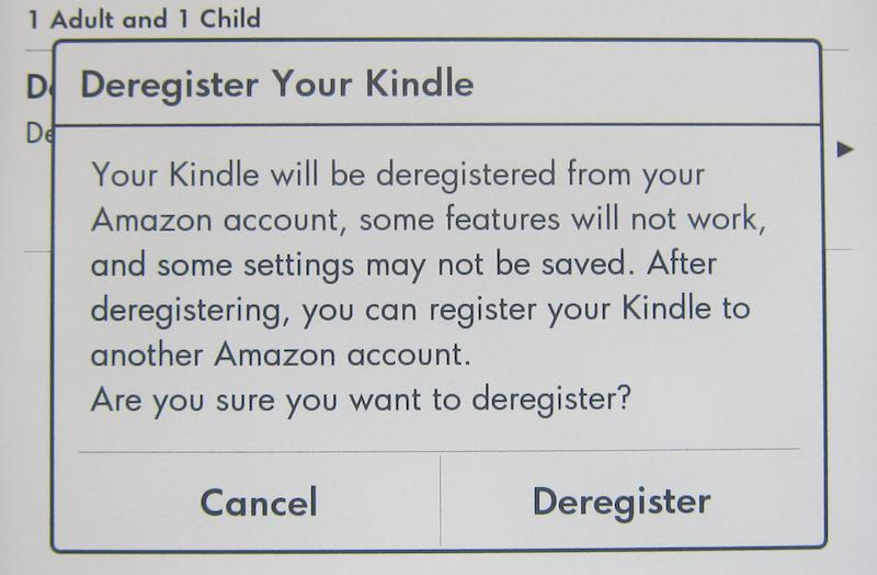 How do I properly reset my old Amazon Kindle Paperwhite