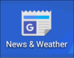 customize weather edition language news and weather app program android tablet smartphone