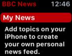 customize your news bbc news app apple watch sport edition iphone
