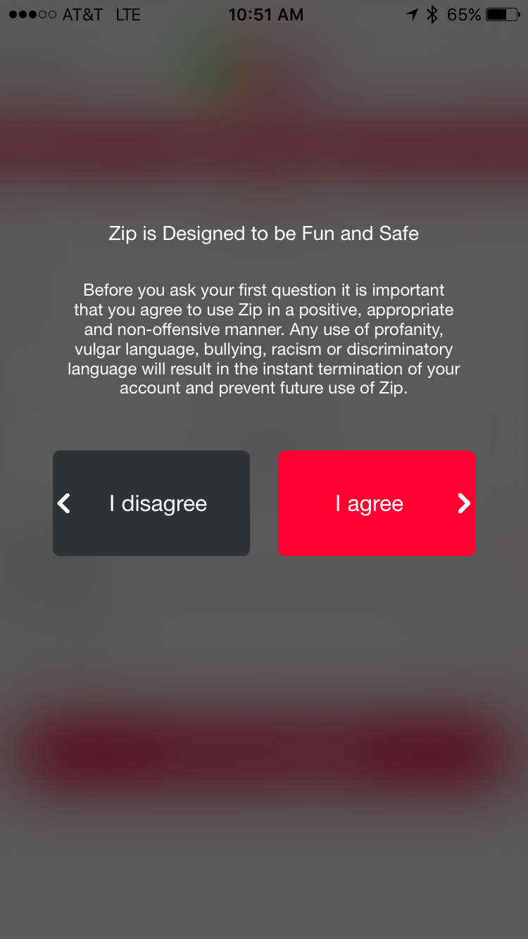 Review: Zip - The iPhone Question Answer App - Ask Dave Taylor
