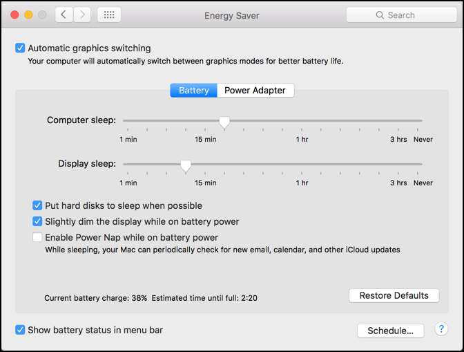 Disable Power Nap on my Mac System? - Ask Dave Taylor