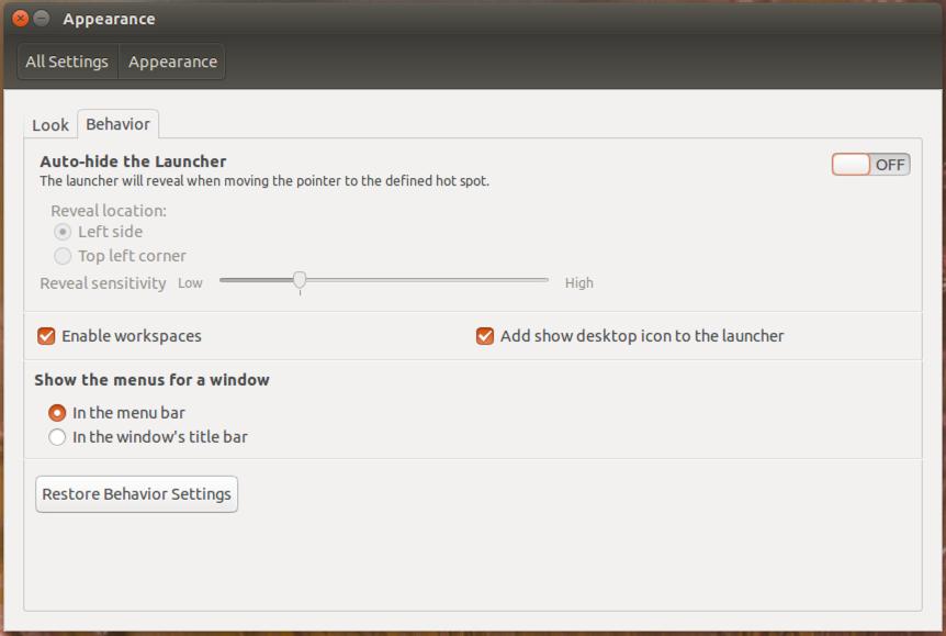 how to make desktop icons smaller in ubuntu
