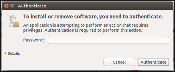 log in as root to allow software installation ubuntu linux