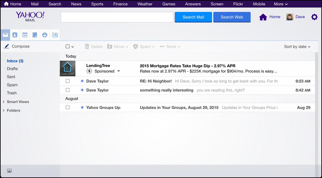 Change My Yahoo Mail Theme And Background?