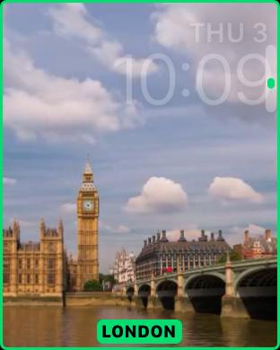 customize timelapse apple watch sport edition face