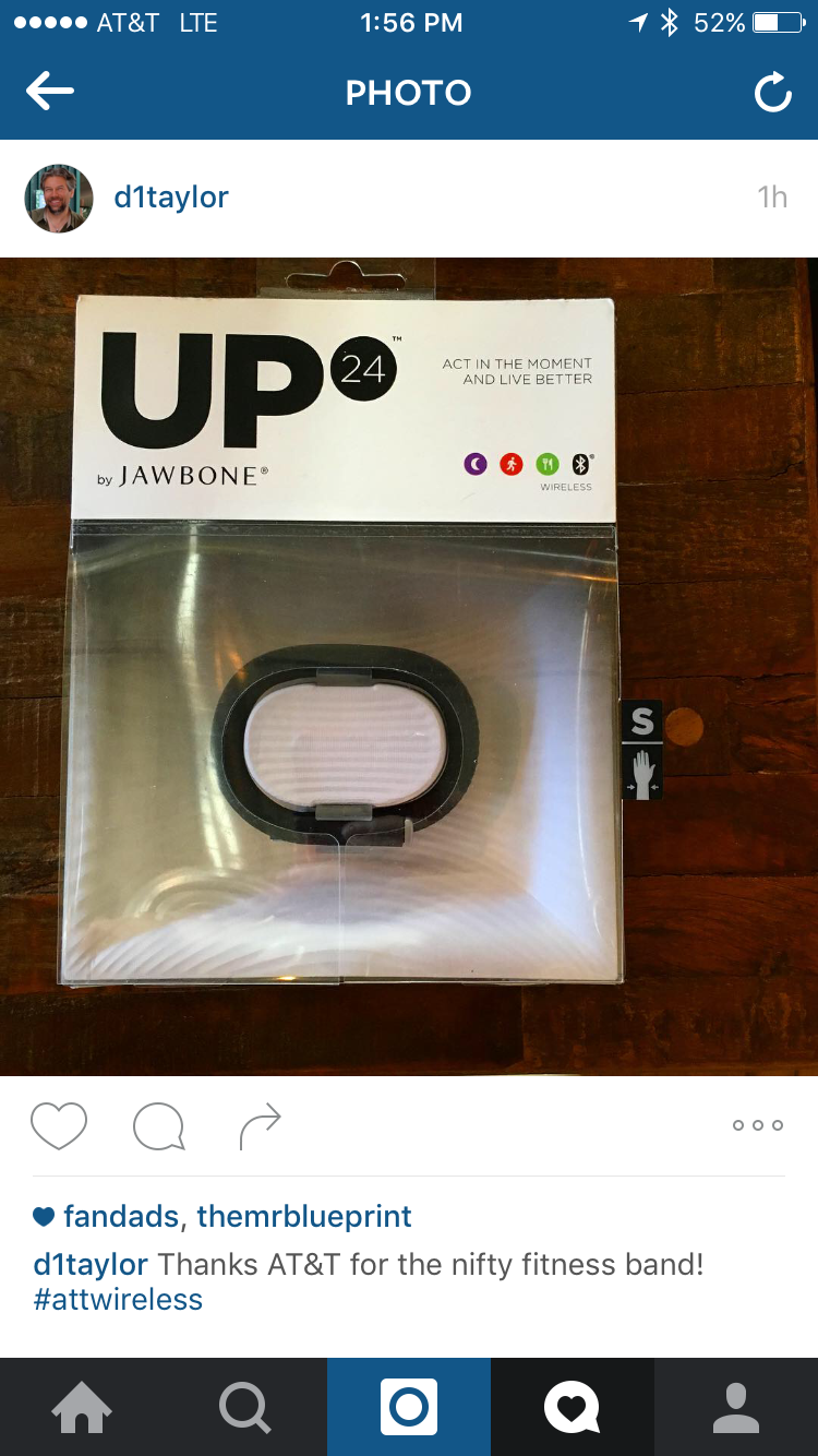 instagram photo post to delete, up24 by jawbone