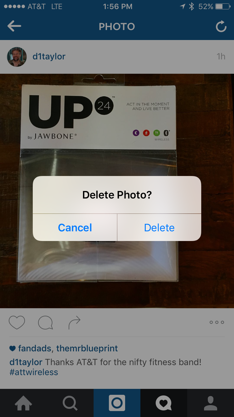 sure you want to delete instagram post?