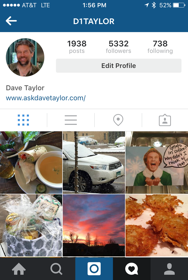 D1taylor Askdavetaylor Instagram Feed Photos Post How Do I Delete An  Instagram Post Photo? Ask