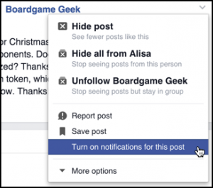 how to clear notifications from facebook