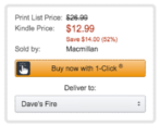 how to buy a kindle ebook at amazon.com and send it to kindle fire reader paperwhite