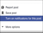 how to track facebook photos updates comments notes
