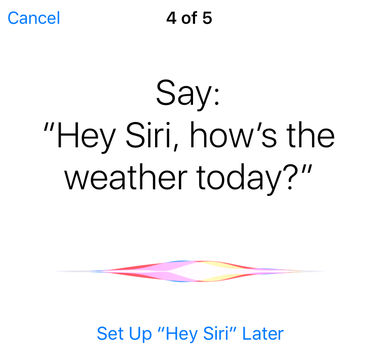 how to talk to siri on iphone 6