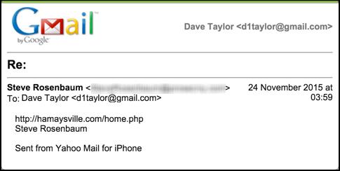 fake phishing spear phishing sample email message