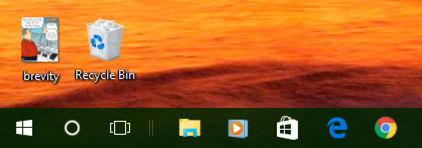 Groovy Enlarge Desktop Icons And Taskbar In Windows 10 Ask Dave Download Free Architecture Designs Salvmadebymaigaardcom