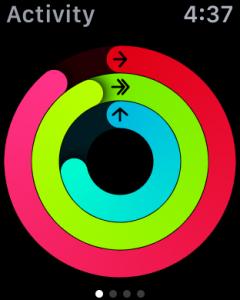 activity monitor app, apple watch