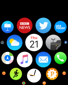apple watch os 2 ical calendar
