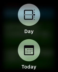 force press options, calendar ical program, apple watch