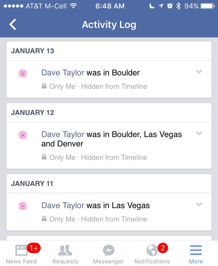 Stop Facebook from tracking your location? - Ask Dave Taylor