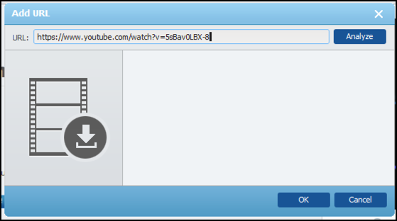 enter youtube url to download video