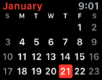 ical calendar apple watch sport edition tips tricks help