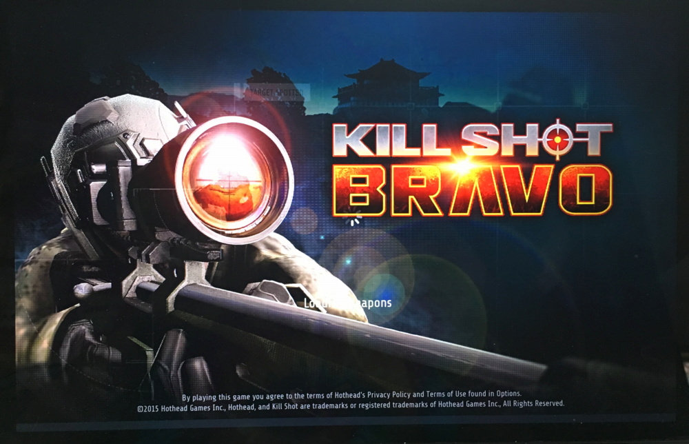 killshot bravo android game, running in remix os on a mac
