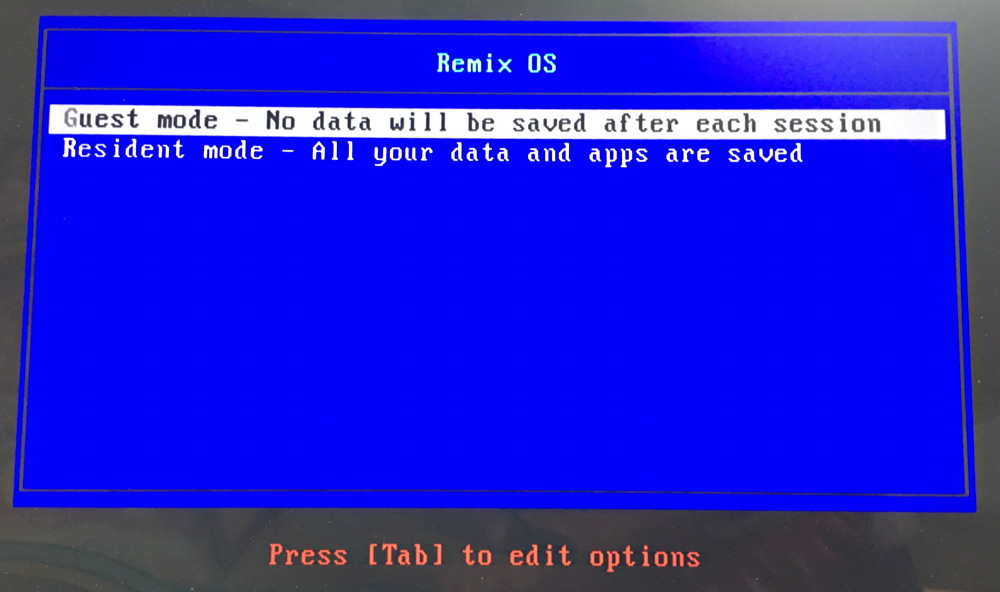 boot temp or real user mode? DOS boot