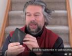 review v1 rfid shielded safety privacy men leather wallet silent pocket