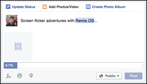how to upload a video to facebook